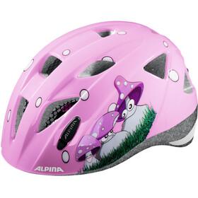Alpina Ximo Pyöräilykypärä , vaaleanpunainen/monivärinen